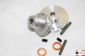 GEAR AND THROTTLE WHEEL CNC NEW