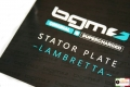 Stator plate bgm ORIGINAL 120 W for Lambrettas with electronic ignitions.