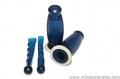 Grip handle Blue Biemme with lever protection